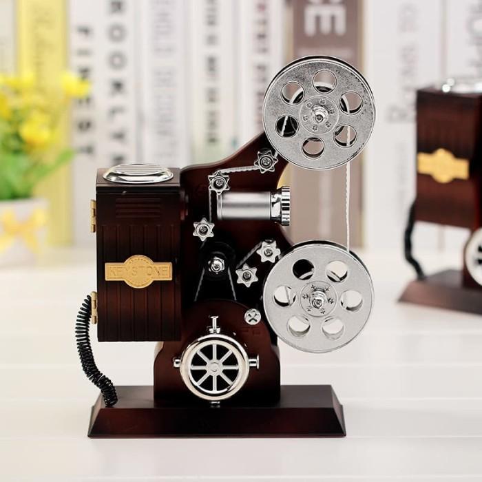 harga Retro projector music box / kotak musik box proyektor vintage kado Tokopedia.com
