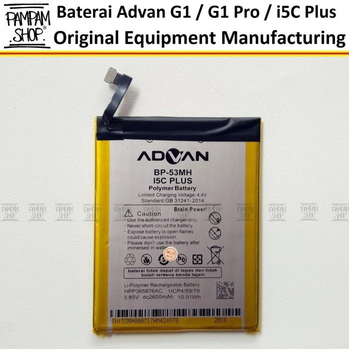 harga Baterai handphone advan g1 pro bp-53mh bp53mh original batre batrai Tokopedia.com