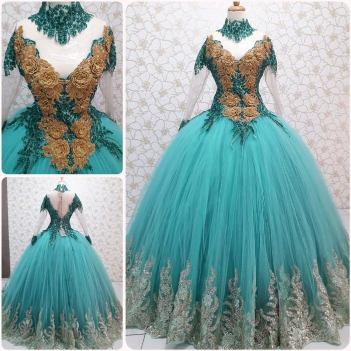 harga Gaun kebaya pengantin model barbie Tokopedia.com