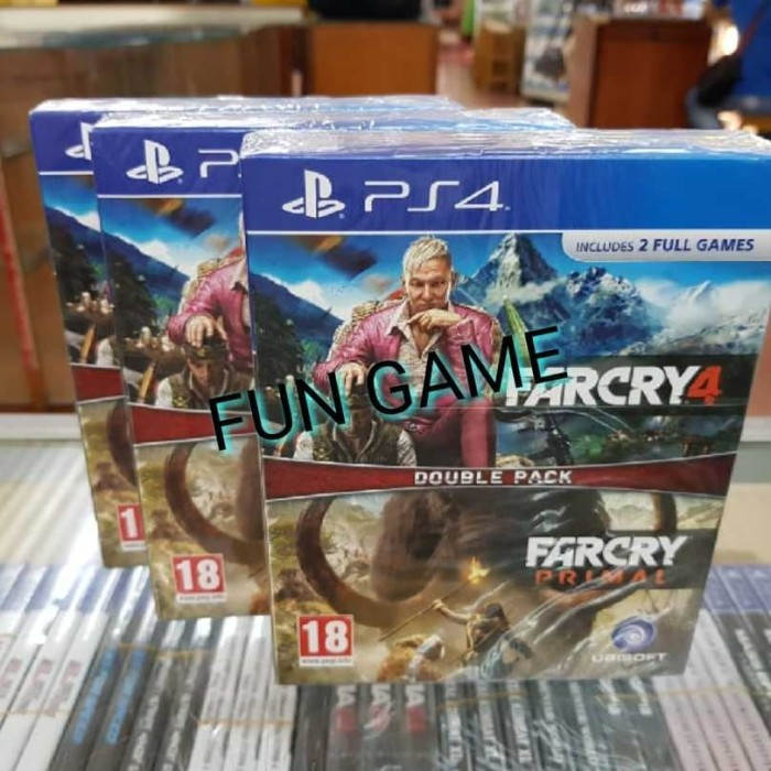 Jual Ps4 Far Cry 4 Far Cry Primal Double Pack R2 Inggris Jakarta Utara Fun Game Shop Tokopedia