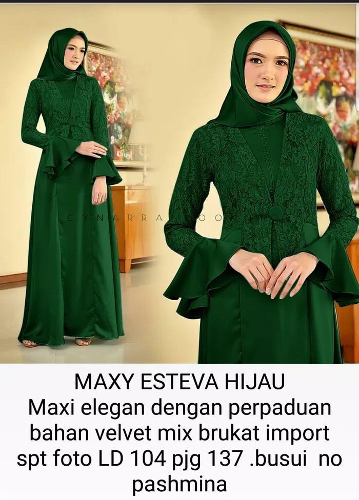 Jual Brukat Import Maxi Gaun Seragam Pesta Pernikahan Baju Gamis Dress Xl Kota Tangerang Boutique Preloved Tokopedia