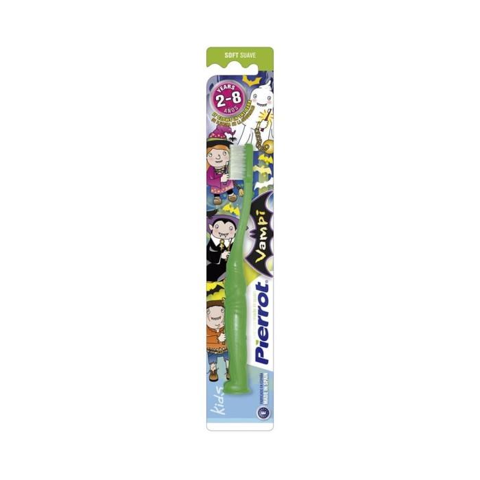 Sikat gigi anak Glow in the dark - Pierrot Kids 2 - 8 Tahun - Orange f616c7a7c1