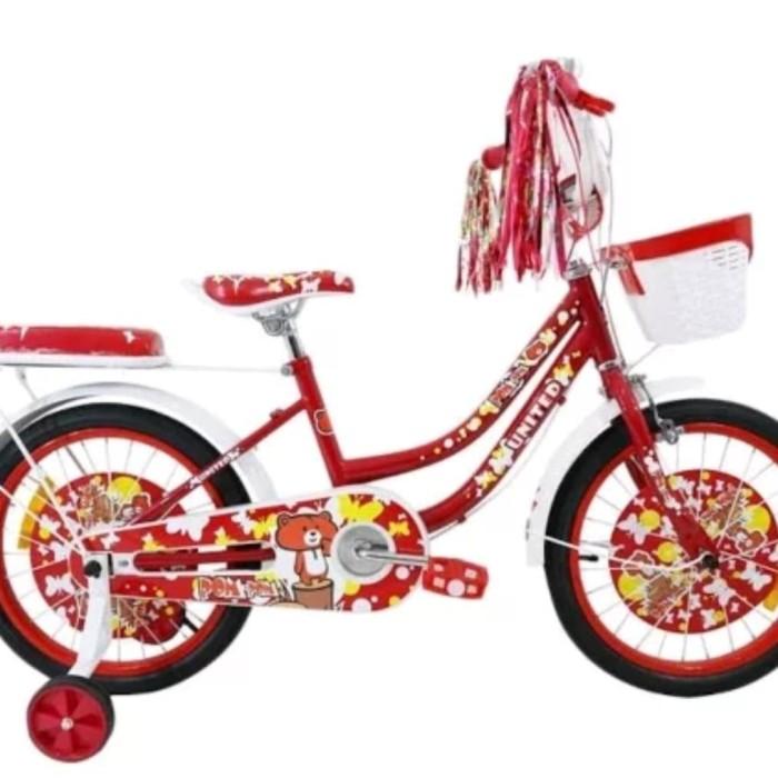 Jual Sepeda Mini 18 United Pom Pom - Kota Tangerang