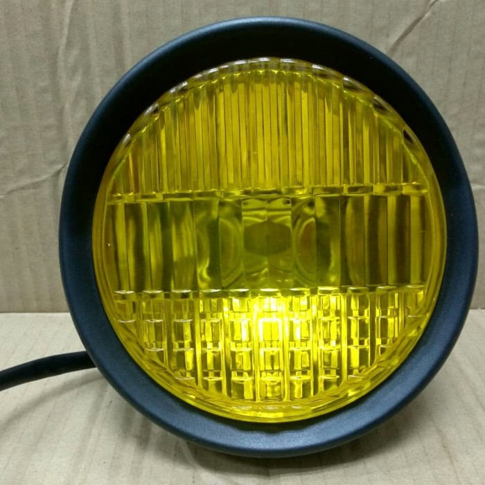 harga Lampu depan bulat japstyle cafe racer japs custom Tokopedia.com