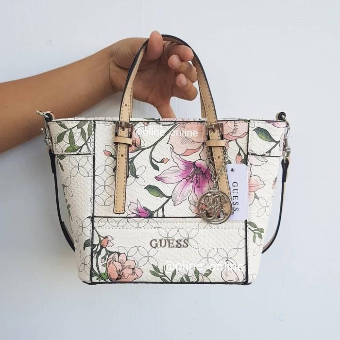 Jual Promo merdeka tas guess delaney mini floral - Premium Branded ... e51e907689eda