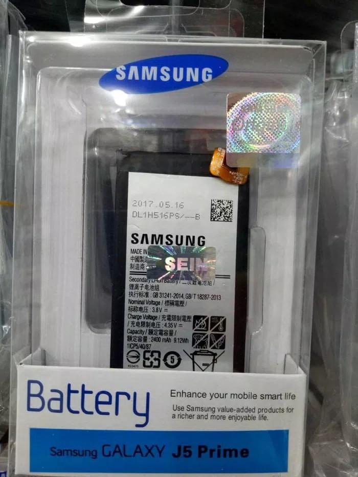 harga Baterai handphone samsung j5 prime original sein batre batrai battery Tokopedia.com
