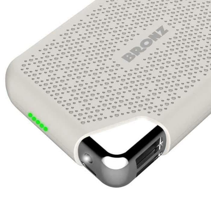 HIPPO Power Bank Bronz X Series 7500mAh Simple Pack - Putih