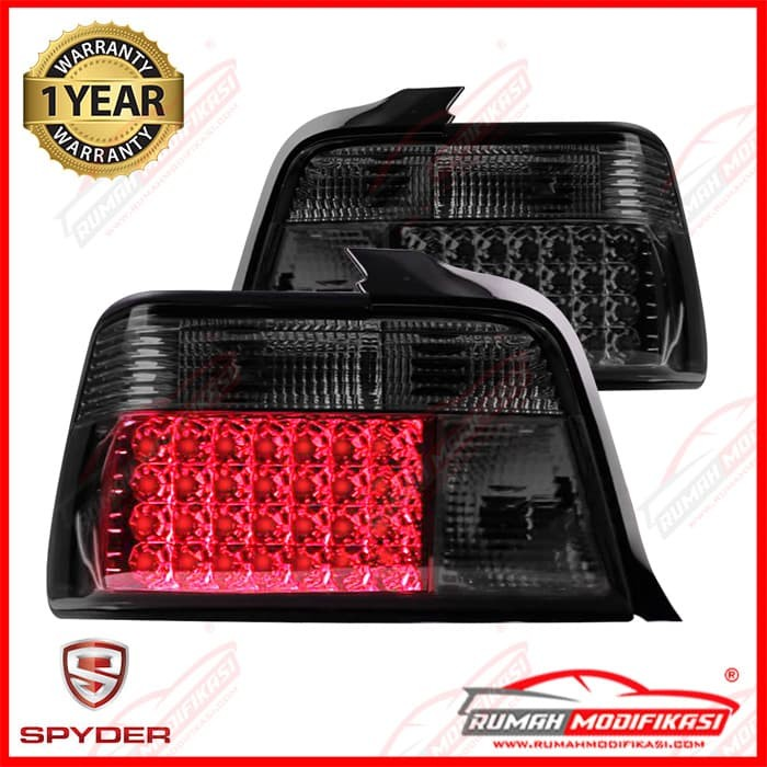 harga Stop lamp - bmw e36 1991-1998 - sonar - smoke - led Tokopedia.com