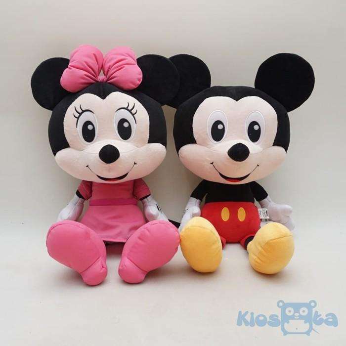 Jual boneka couple mickey and minnie mouse happy face original ... ed540b9e98