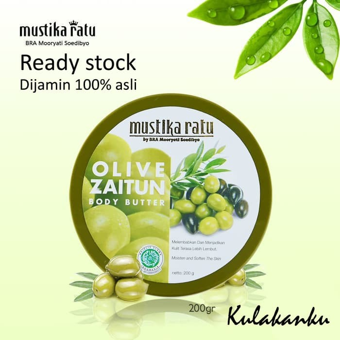 harga Mustika ratu zaitun body butter 200 gr Tokopedia.com