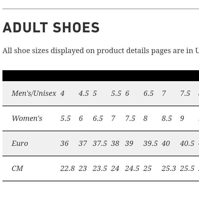 buy popular 4684c 3c2c1 Jual Size Chart Sepatu Onitsuka Tiger Mexico - Kota Bandung -  mainshoesoffcl | Tokopedia