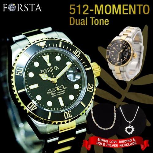 Jual Jam Tangan Kesehatan Forsta Momento Dual Tone - Couple  d53be00654