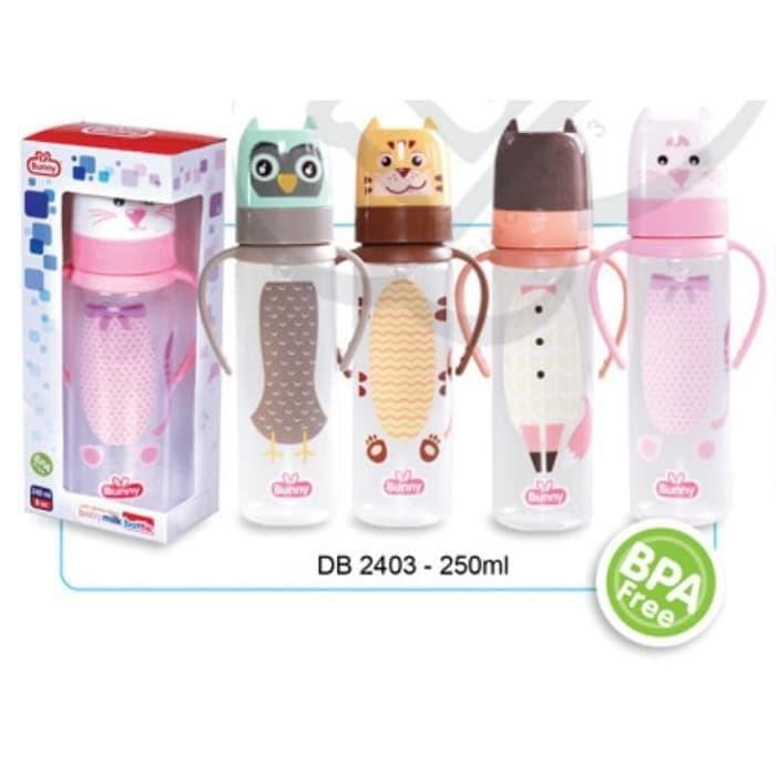 harga Lusty bunny botol susu bayi karakter lucu dengan handle 250ml Tokopedia.com