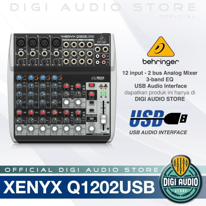 harga Audio mixer behringer xenyx q1202 usb ( q 1202 usb ) with soundcard Tokopedia.com