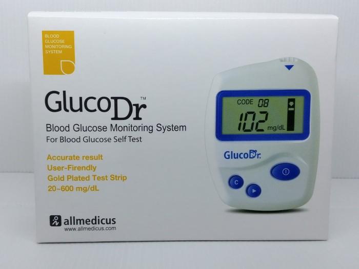 Foto Produk Alat Gluco Dr / Alat cek gula darah / Alat Cek Glucosa /Alat GlucoDr dari PrimeCare
