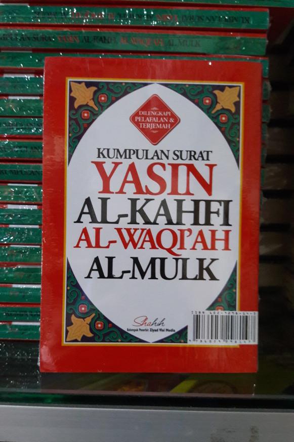 Jual Kumpulan Surat Yasin Al Kahfi Al Waqiah Al Mulk Terjemah Latin Kota Bandung Al Quran Bandung Tokopedia