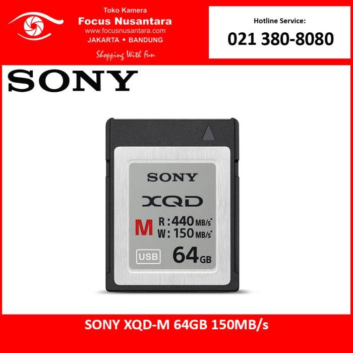 harga Sony xqd-m 64gb 150mb/s Tokopedia.com