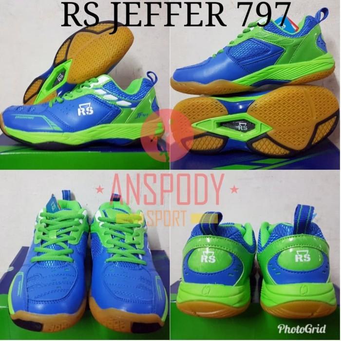 harga Sepatu badminton rs jeffer 797 Tokopedia.com