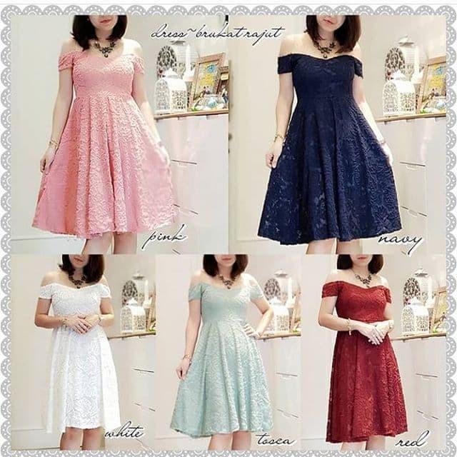 Jual 3106 Fashion Baju Outfit Pakaian Dress Gaun Pesta Party Wanita