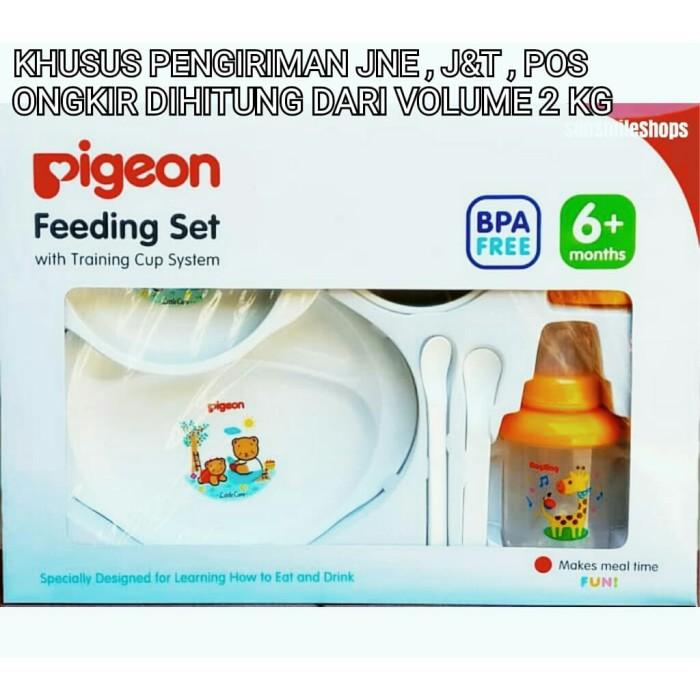 ... PIGEON Feeding Set With Training Cup Besar KHUSUS JNE J&T POS