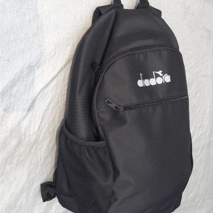 harga Original diadora. black. tas ransel punggung. olahraga. sekolah Tokopedia.com
