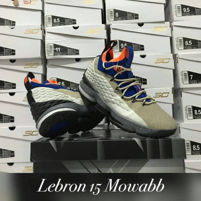 online store 2663e a1b7a Jual sepatu basket nike lebron 15 mowabb grade original murah - Kota Batam  - vier sport   Tokopedia