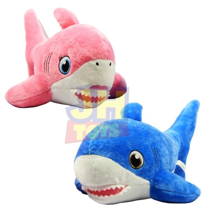 Jual mainan anak boneka ikan hiu paus baby shark