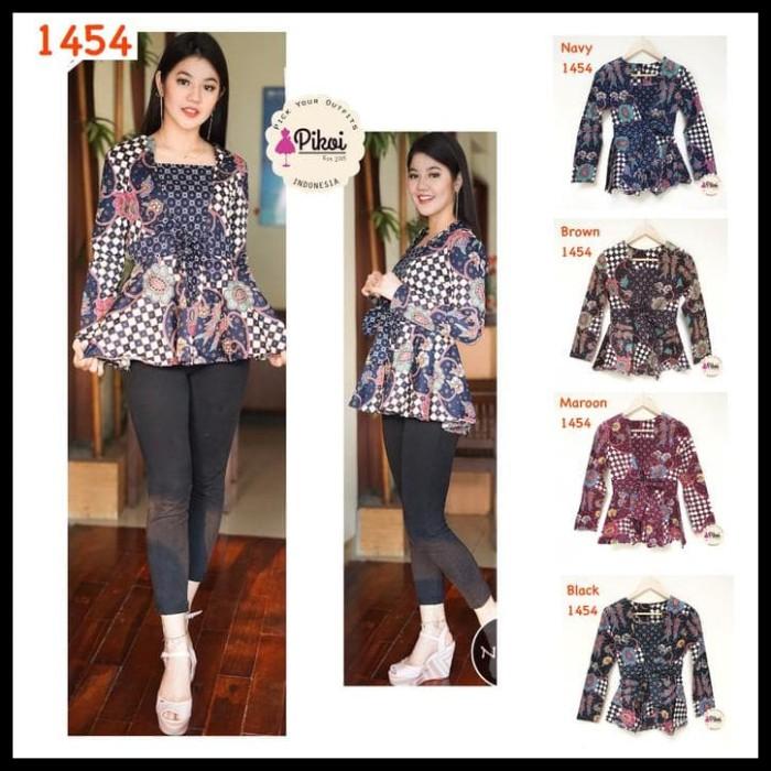 Jual Promo Baju Batik Modern Wanita U002f Batik Lengan Panjang