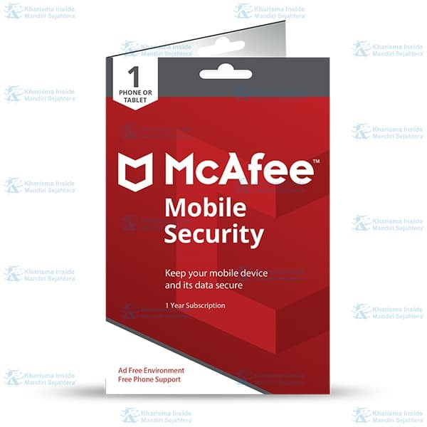 Mcafee® Mobile Security Software Antivirus Android(1device/1 Year) - Blanja.com