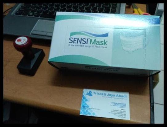 New Sale Masker Wajah Mulut Sensi Mask 3Ply Berkualitas Grosiran
