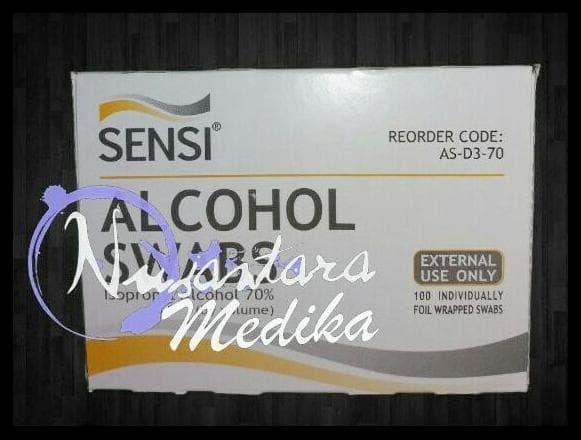 Foto Produk Murah Alkohol Swab dari Jaela Store.ID