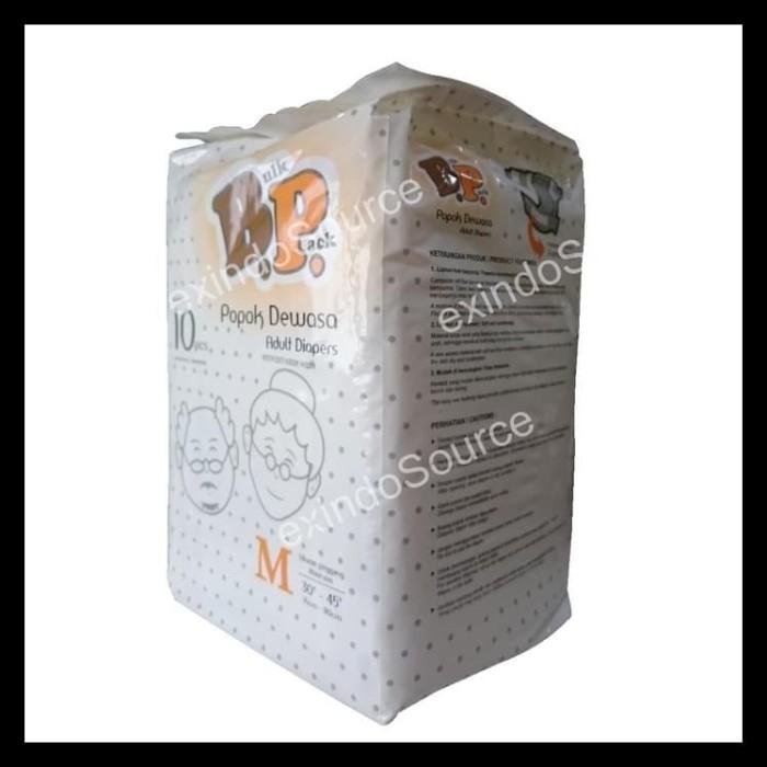 Foto Produk Baru Bp-10M. Diapers \U002F Popok Dewasa Uk: M, Isi: 10 Pcs dari Jaela Store.ID