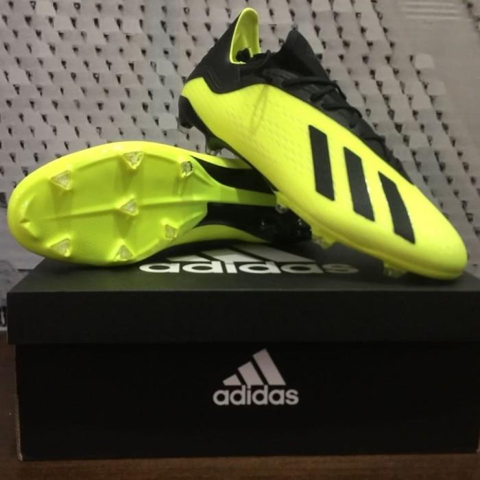 buy popular 12611 fee92 Jual Adidas X18.2 FG - Solar Yellow / Core Black / Ftwr White - Jakarta  Barat - Hendy Sport Original | Tokopedia