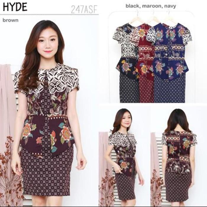 Dress Batik Modern / Gaun Batik / Dress