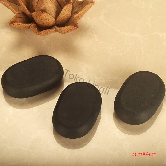 Foto Produk Hot Stone / Batu Terapi SPA / Therapy Stone / 3cmX4cm2CM dari tokolingli