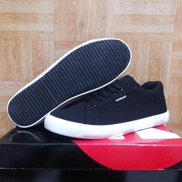 Sepatu Airwalk Eduard Original   Casual   sneakers   Black   sekolah caa284d90b