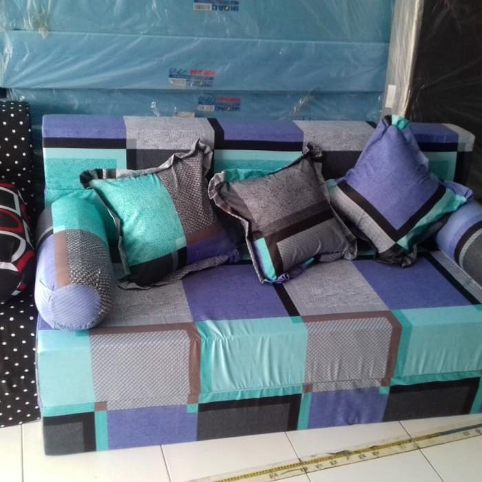 harga Sofa bed busa uk 200 x 145 x 20 / sofabed no. 3 busa inoac asli Tokopedia.com