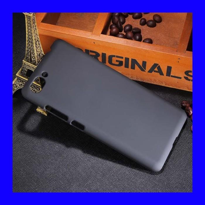 Foto Produk Asus Zenfone 4 Max Pro - Black Rubber PC Hardcase Cover dari Max Case