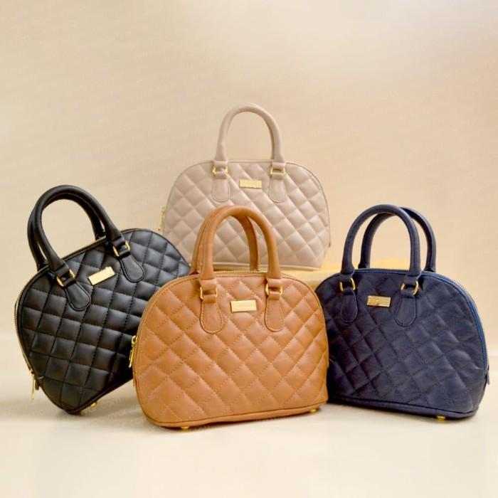 Bagtitude Aster Hand Bag Navy Blue - Daftar Harga Terkini dan ... 15dd3879a7