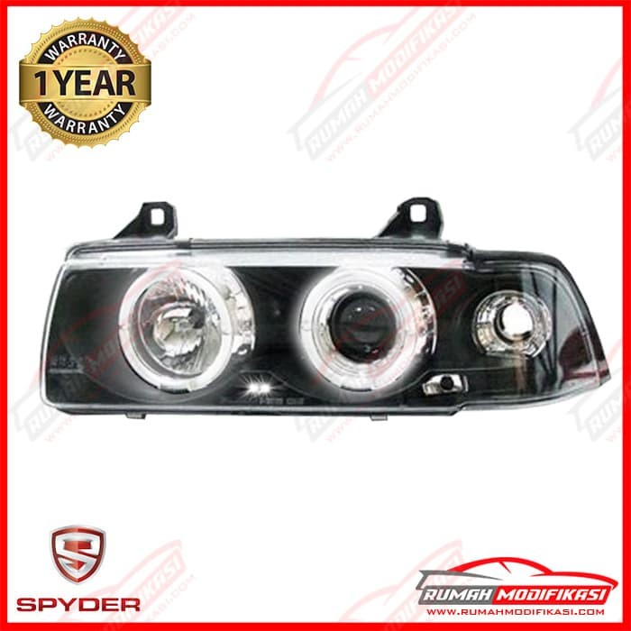 harga Headlamp - bmw e36 1991-1998 - sonar - led - projector - black Tokopedia.com