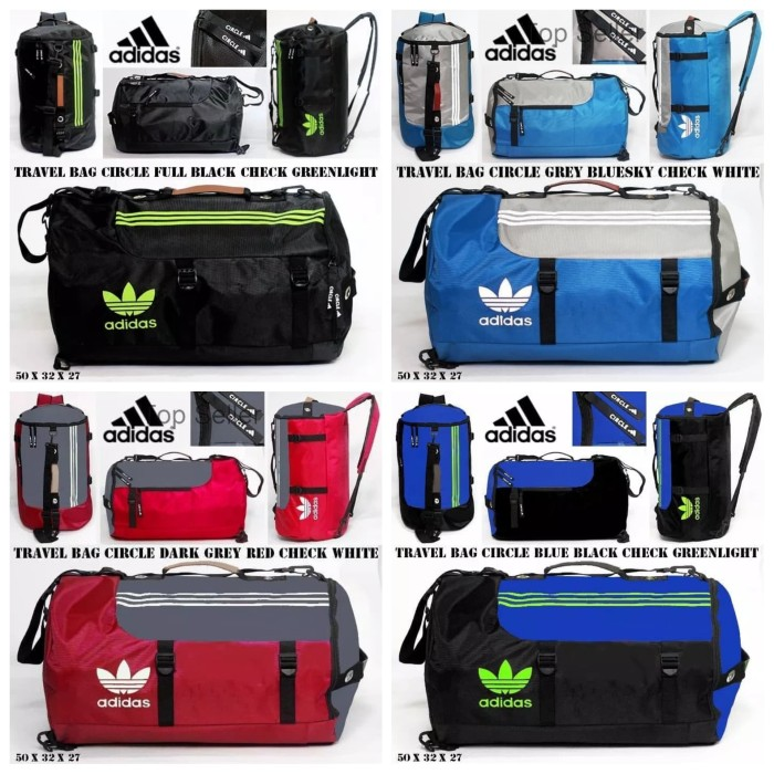 harga Travel bag adidas multy sports pria tas ransel gym fitnes mudik bola Tokopedia.com