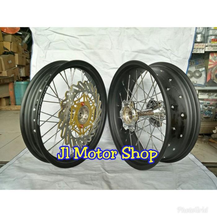 harga Sepaket velg lebar tromol becak ninja 250 n250 fi karbu z250 rr mono Tokopedia.com