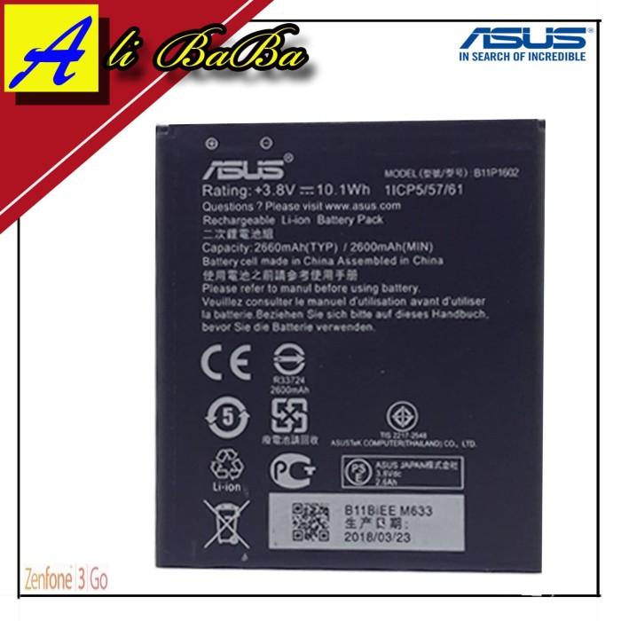 harga Baterai handphone asus zenfone 3 go zb500kl b11p1602 batre hp asus Tokopedia.com