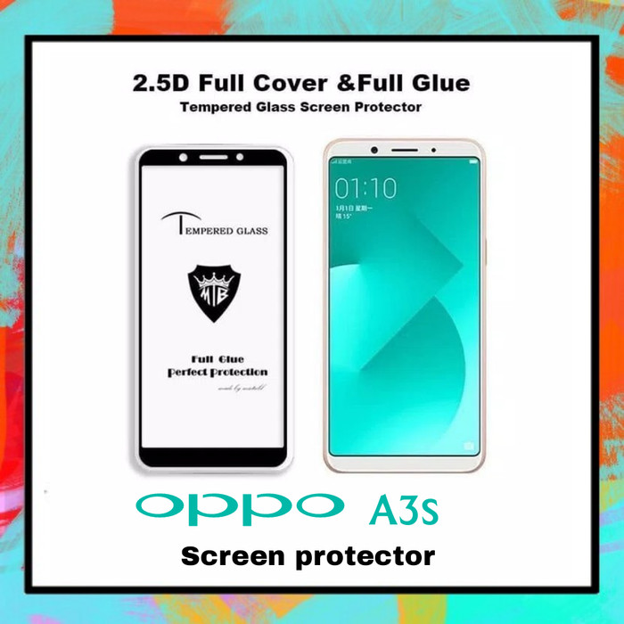 harga Temperred glass 5d oppo a5 / a3s full glue curved Tokopedia.com