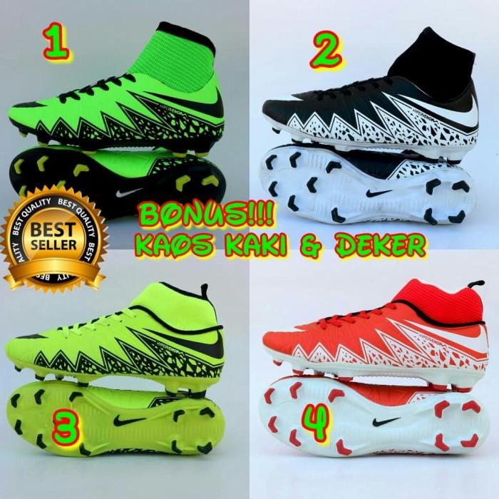 harga Sepatu murah terlaris nike bola high free kaos kaki & deker Tokopedia.com