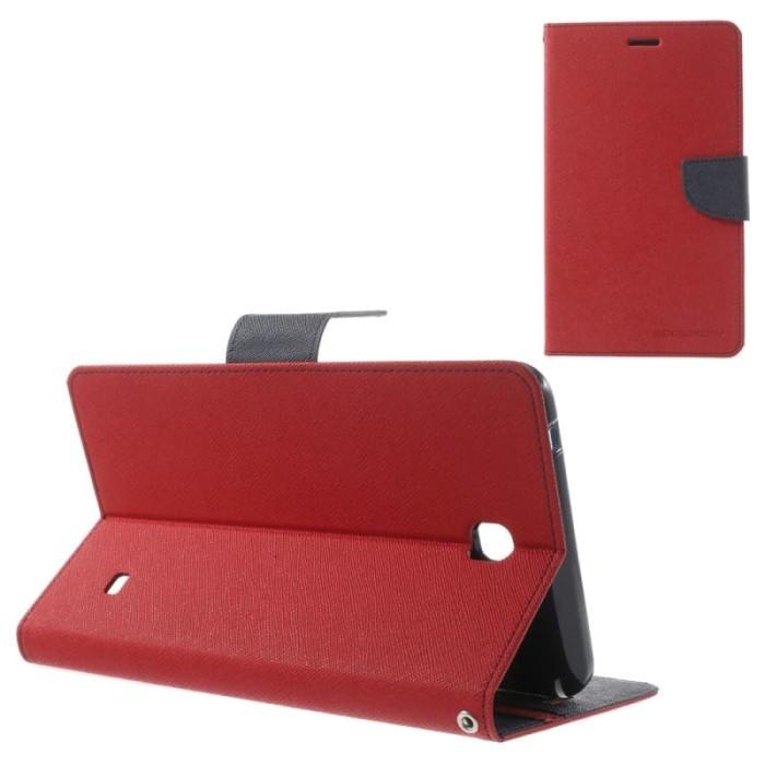 harga Goospery samsung tab s3 9.7 t825 fancy diary case - red navy Tokopedia.com
