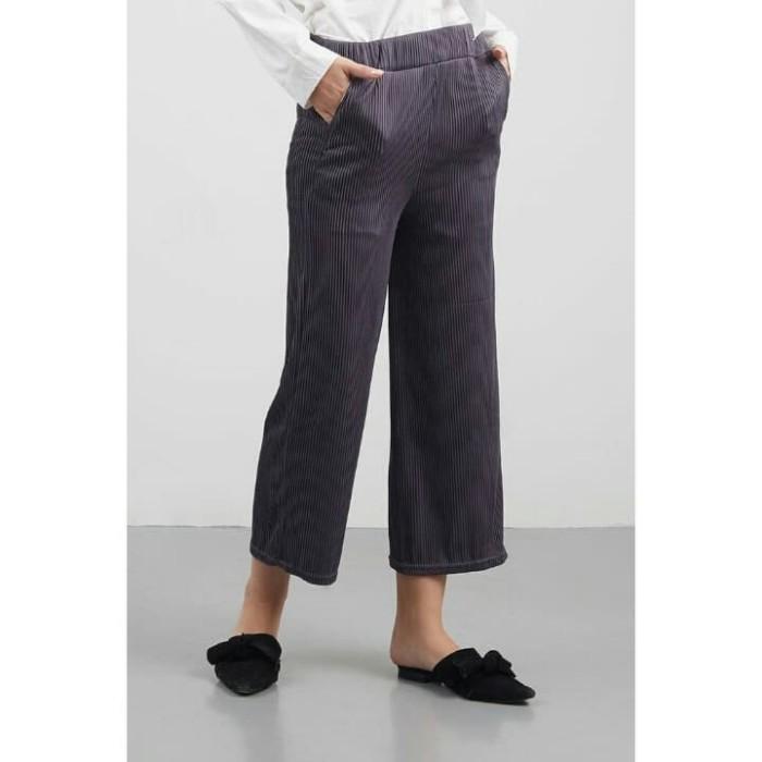 ... Fashion Celana Wanita Kulot Motif Salur Obos Harga Terkini dan Source Kulot Babat Alvaro Celan kulot