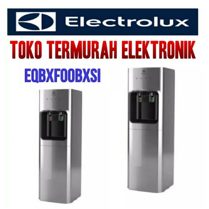 Jual Electrolux Water Dispenser EQBXFOOBXSI Silver elektronik Source · ELECTROLUX DISPENSER GALON BAWAH EQBXFOOBXSI SILVER