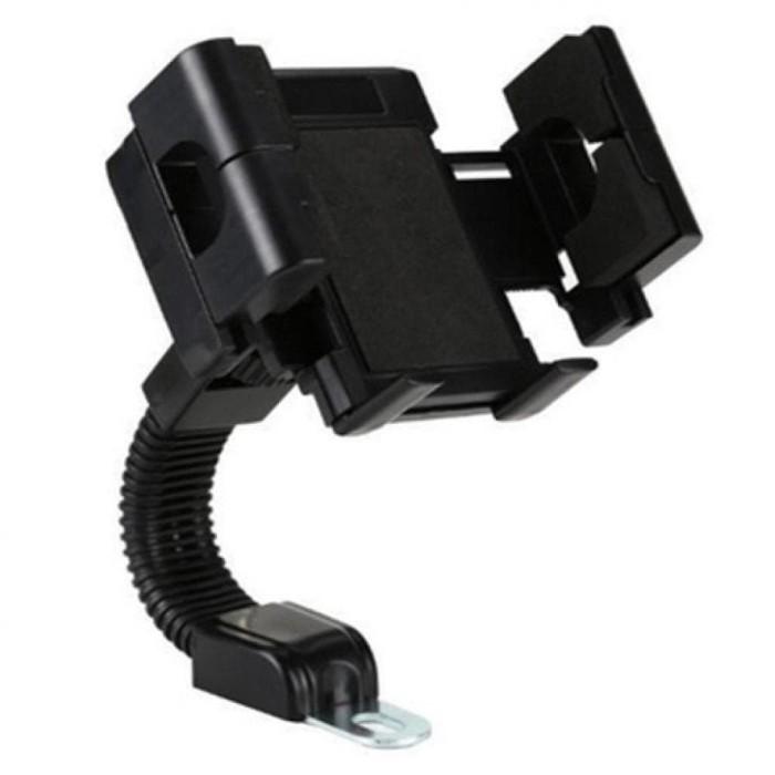 Dudukan Hp di motor fleksible , kuat , aman , / Motor holder / phone