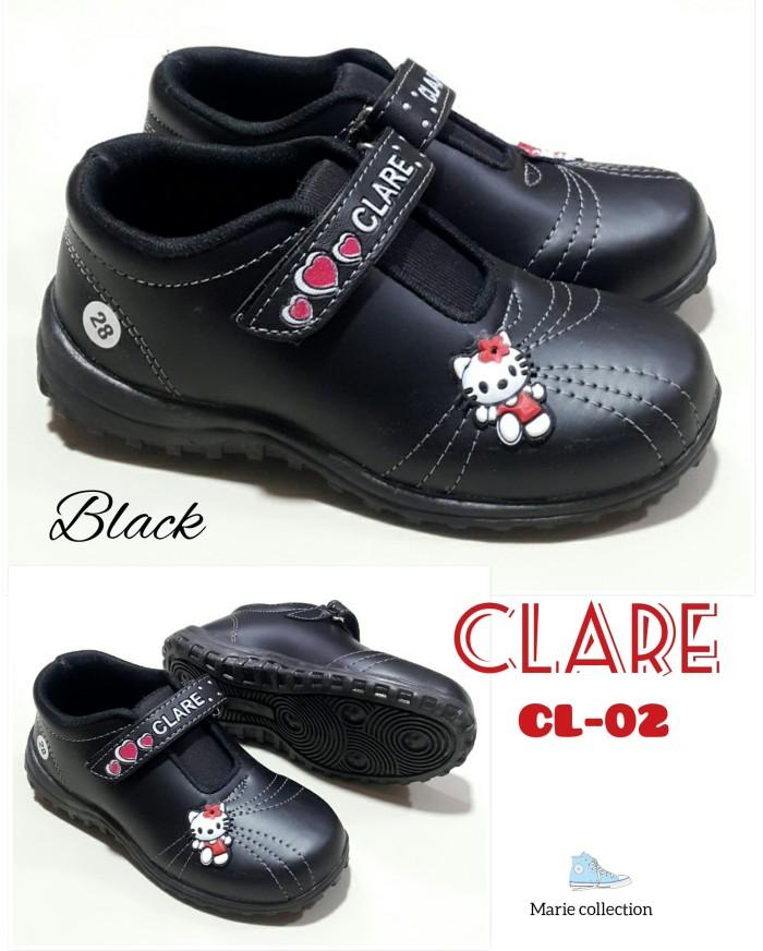 harga Sepatu anak perempuan hitam hello kitty clare Tokopedia.com